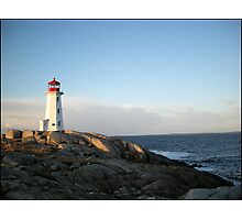 Peggys Cove at Dawn Nova Scotia Canada by Shawna Mac Photographic Print