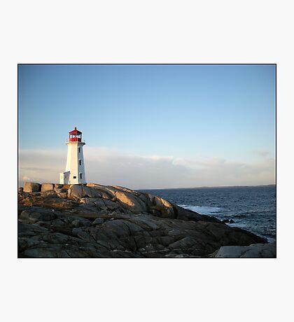 Peggys Cove at Dawn Nova Scotia Canada by Shawna Mac Photographic Print