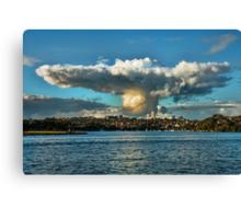 Sombrero Cloud Canvas Print