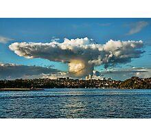 Sombrero Cloud Photographic Print