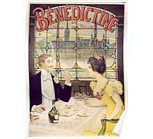 Advertisement for Benedictine Poster