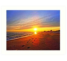 Super Bowl Sunset 2013, Fire Island Art Print