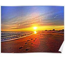 Super Bowl Sunset 2013, Fire Island Poster