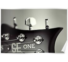 PRS SE One Headstock Poster