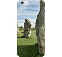 Avebury stone circle iPhone Case/Skin