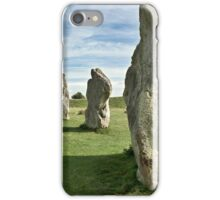Avebury stone circle iPhone Case/Skin
