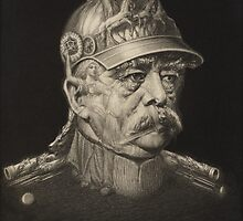 Postcard of Otto von Bismarck, c.1895 by Bridgeman Art Library