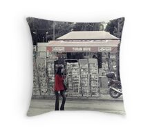 Candid Throw Pillow