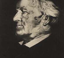 Postcard of Richard Wagner by Bridgeman Art Library