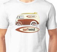SurfWest Austin Surf Van Unisex T-Shirt