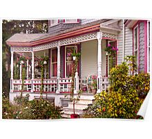 Victorian - Belvidere, NJ - The beauty of Spring  Poster