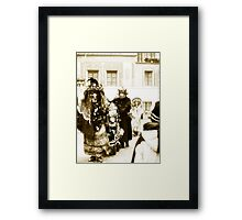 Locarno: Witches VRS2 Framed Print