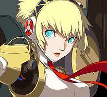 Persona 4 Arena - Aigis by ItemNazo