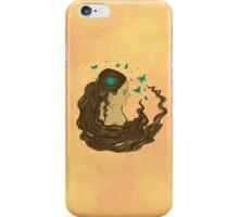 La Dame aux papillons iPhone Case/Skin