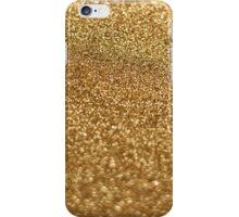 Gold stardust iPhone Case/Skin