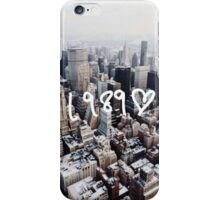 1989 NYC iPhone Case/Skin
