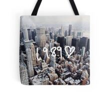 1989 NYC Tote Bag