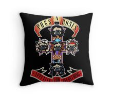 p 'n r appetite for everything Throw Pillow