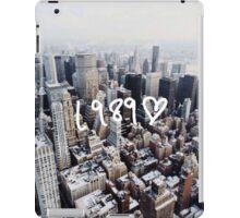 1989 NYC iPad Case/Skin