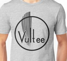 Vultee Aircraft Logo (Black) Unisex T-Shirt