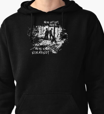 We're in Normandy Pullover Hoodie