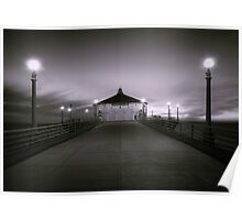 On the Pier Poster