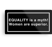 The Equality of the Sisters Metal Print