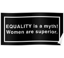 The Equality of the Sisters Poster