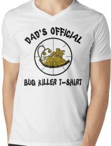 "Father's Day ""Dad's Official Bug Killer T-Shirt"" Mens V-Neck T-Shirt"