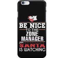 Zone Manager iPhone Case/Skin