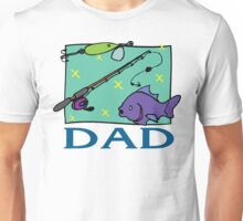 """Father's Day """"Fishing Dad"""" Unisex T-Shirt"""