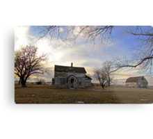 Old Prairie Homestead Metal Print