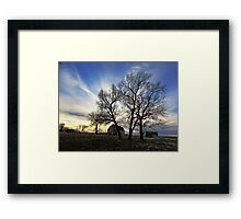 Whispers of the Past Framed Print