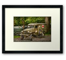 Doctor - MASH Unit  Framed Print