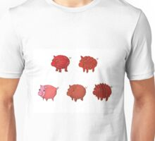 Pigs made of Pork Products! Unisex T-Shirt