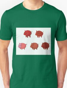 Pigs made of Pork Products! T-Shirt