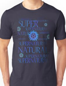 Supernatural In Blue Unisex T-Shirt