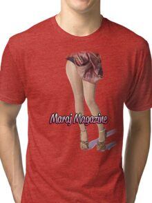 "Maraj Magazine ""Barbie"" T-Shirt Tri-blend T-Shirt"