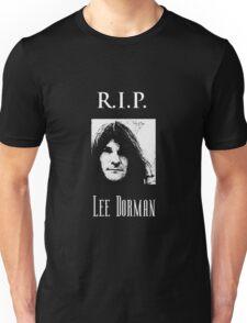 R.I.P. Lee Dorman Unisex T-Shirt