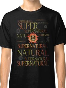 Supernatural In Red Classic T-Shirt