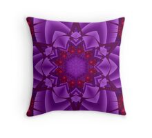 Gem Flower Throw Pillow