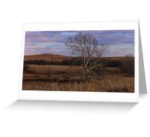 Flint Hills View Greeting Card