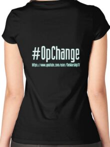 Warship #OpChange Hoodie Women's Fitted Scoop T-Shirt