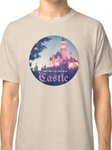 Magic Kingdom Castle Princess Typography Fairy  Classic T-Shirt