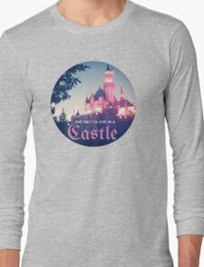 Magic Kingdom Castle Princess Typography Fairy  Long Sleeve T-Shirt