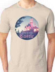 Magic Kingdom Castle Princess Typography Fairy  Unisex T-Shirt
