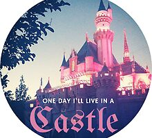 Magic Kingdom Castle Princess Typography Fairy  by Big Kidult