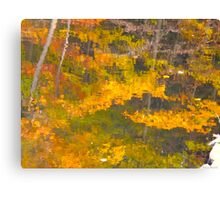 Dipping the brush Canvas Print