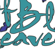 House of Blue Leaves Sticker