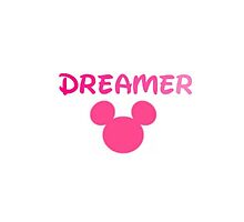 Dreamer Ombre Pink Phone Case by meow-or-never10